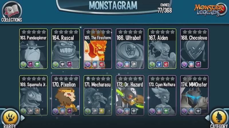 Monster Legends 2018 на телефон