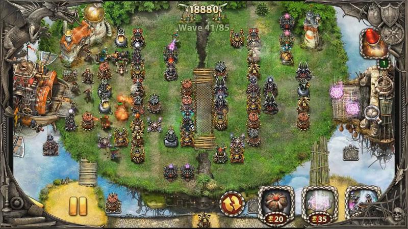 Myth Defense 2: Dark Forces на андроид