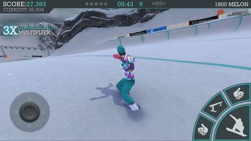 Snowboard Party: Aspen на андроид