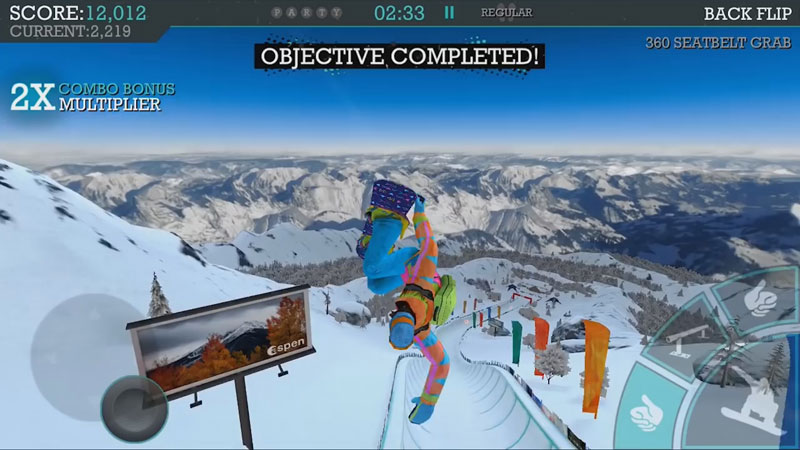 Snowboard Party: Aspen на телефон