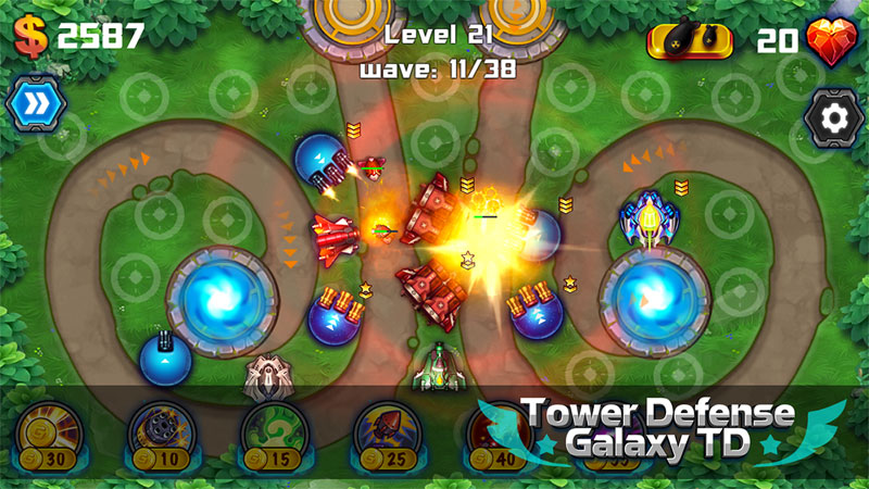Tower Defense: Galaxy TD скачать