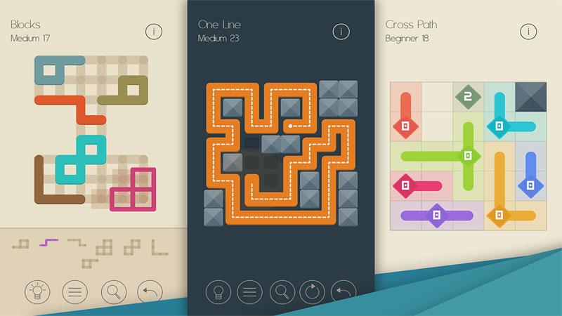 Головоломка - Коллекция: Linedoku на андроид
