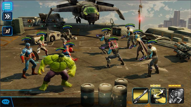Marvel Strike Force на андроид