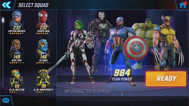 Marvel Strike Force скачать