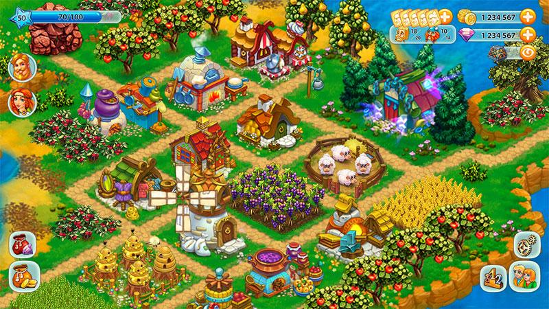 Harvest Land на андроид