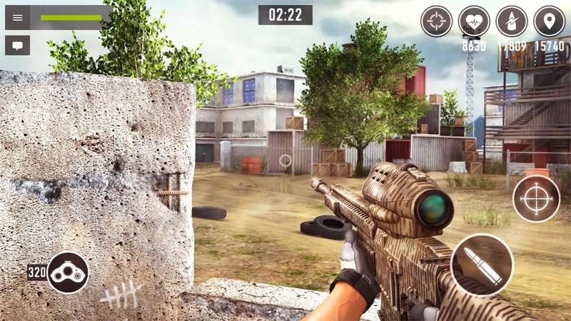 Sniper Arena на андроид