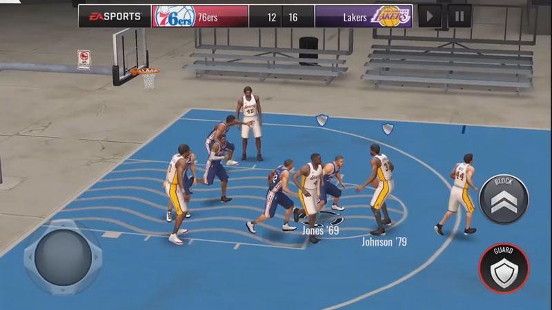 НБА: Баскетбол на андроид