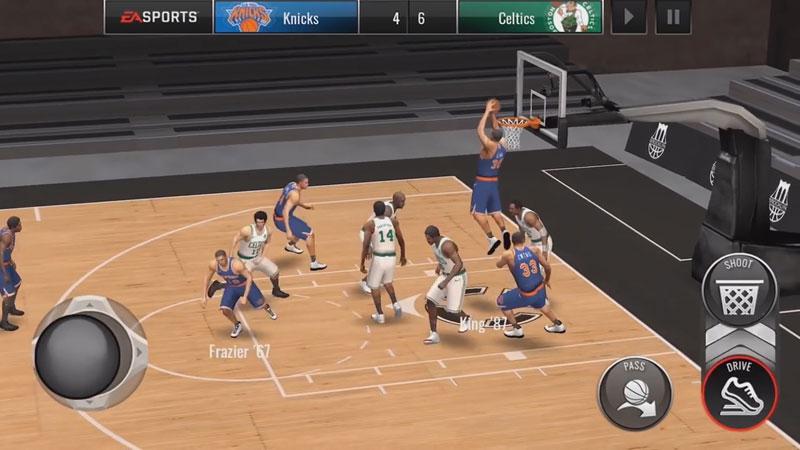НБА: Баскетбол на телефон