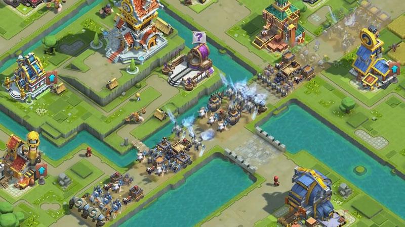 Caravan War: Герои и защита башен на телефон