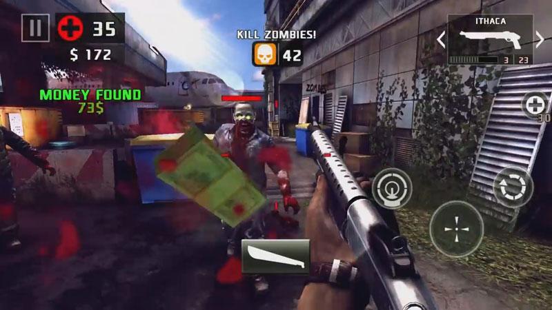 Шутер на выживание с зомби на андроид