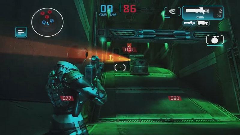 Shadowgun: Deadzone на телефон