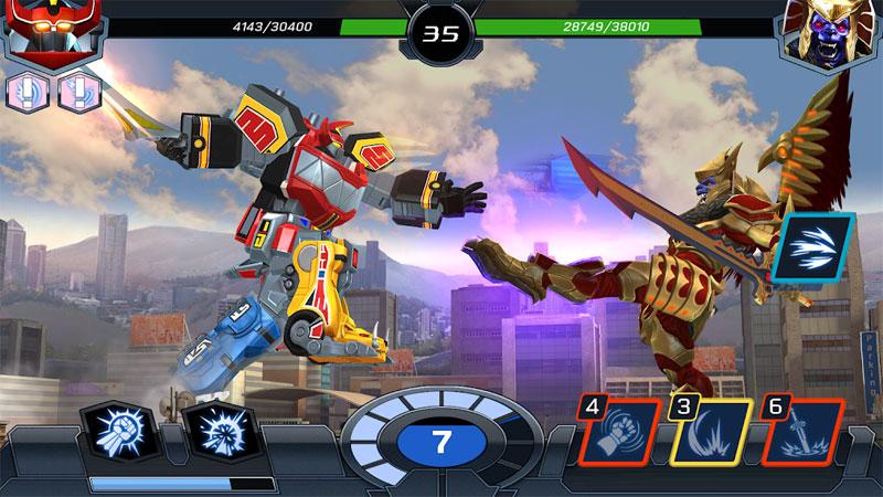 Power Rangers: Legacy Wars 2018 на андроид