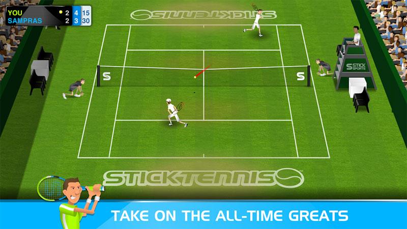 Stick Tennis на андроид
