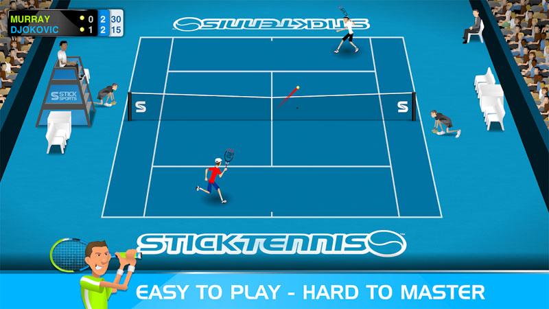 Stick Tennis скачать