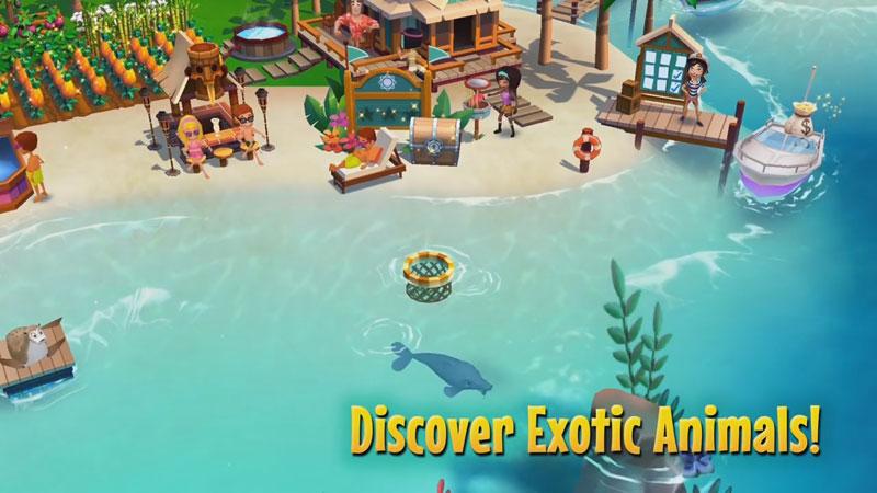 FarmVille: тропический остров на андроид