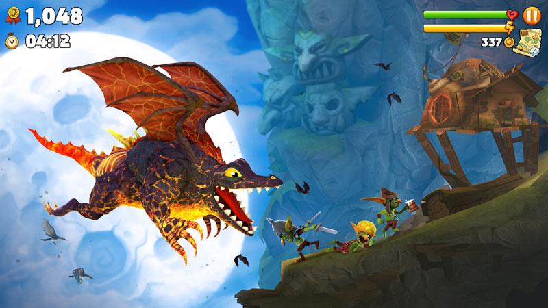 Hungry Dragon скачать