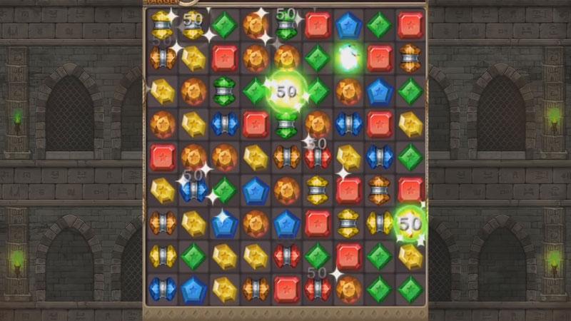 Jewels Temple Quest: три в ряд на андроид