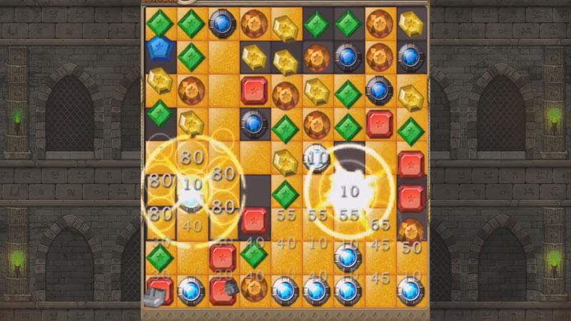 Jewels Temple Quest: три в ряд скачать