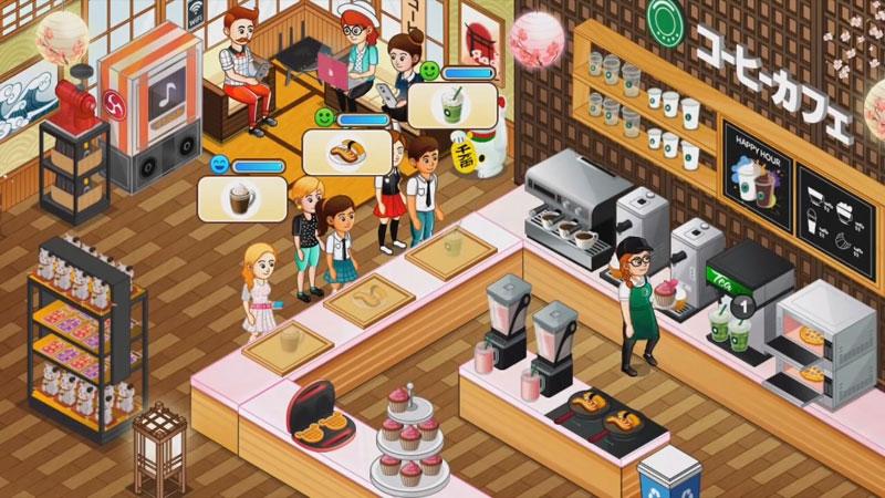 Переполох в кафе: гастрономический ресторан на андроид