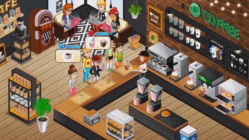 Переполох в кафе: гастрономический ресторан на телефон