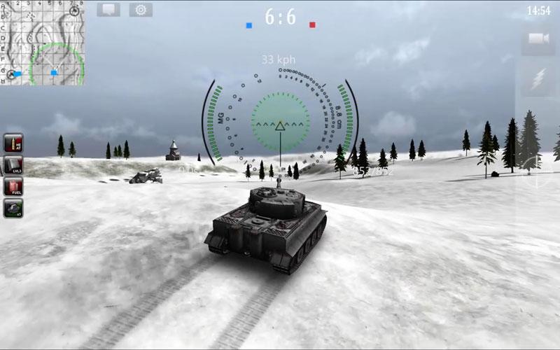 3D война Танков онлайн на андроид