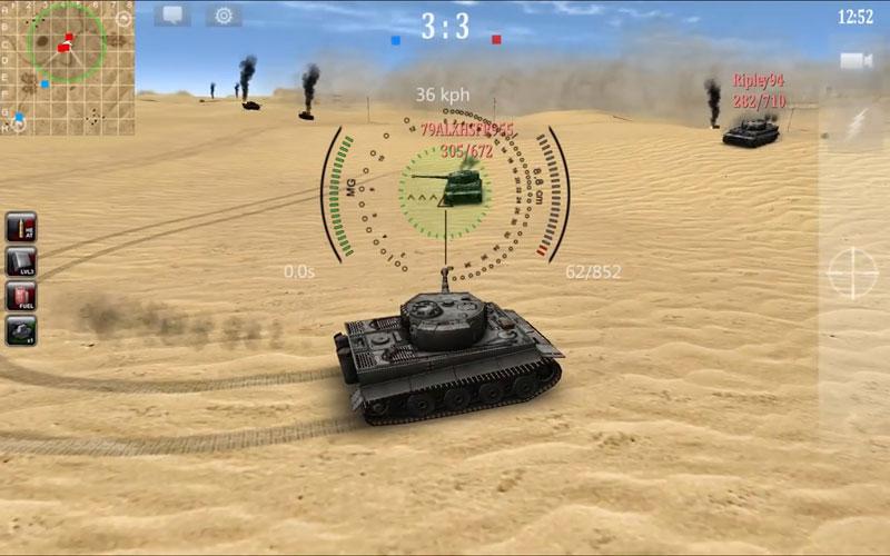 3D война Танков онлайн на телефон