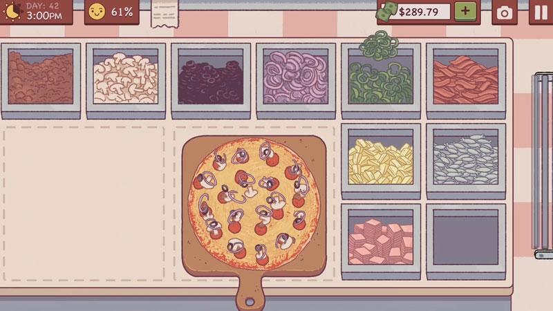 Хорошая пицца, Отличная пицца на телефон
