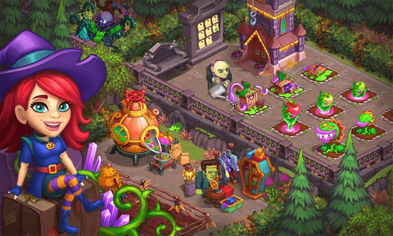 Monster Farm: Ферма - Хэллоуин в Городке Монстров скачать