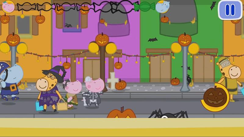 Хэллоуин: Охота на Конфеты на андроид