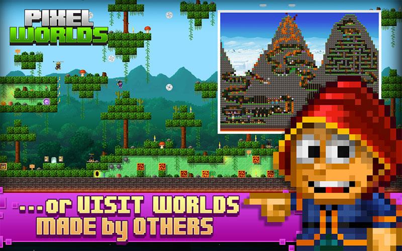 Pixel Worlds скачать