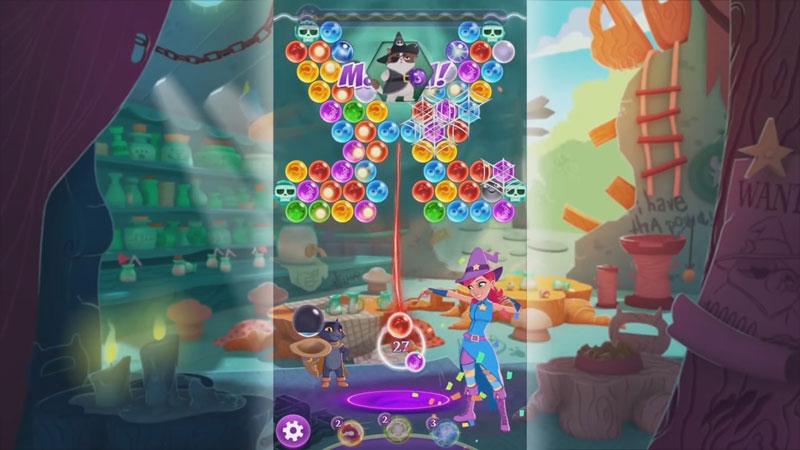 Bubble Witch 3 Saga на андроид