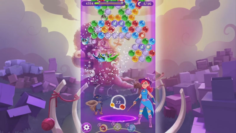 Bubble Witch 3 Saga скачать