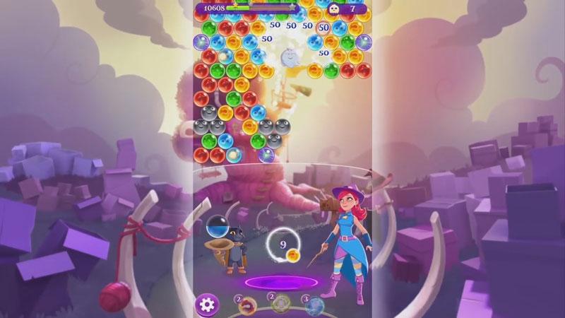 Bubble Witch 3 Saga на телефон