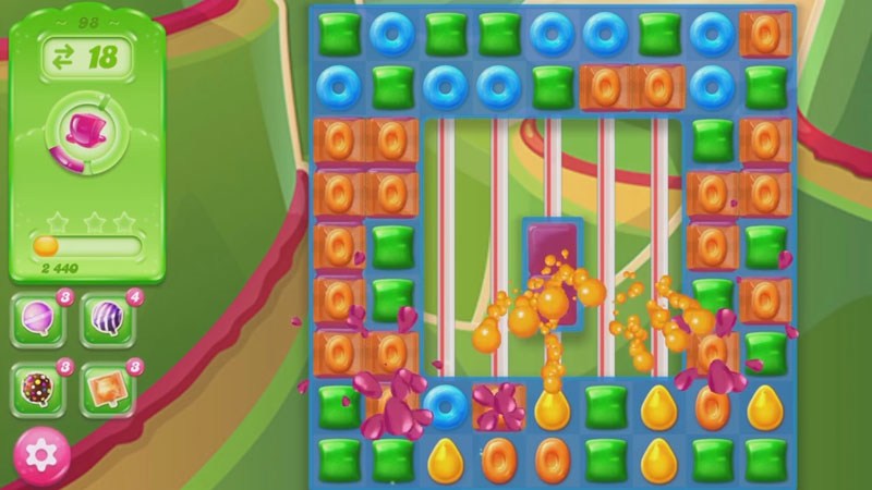 Candy Crush Jelly Saga на андроид