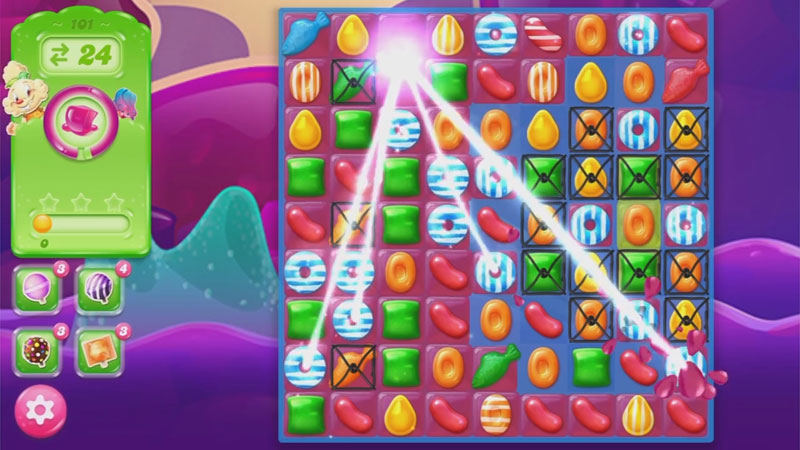Candy Crush Jelly Saga на телефон