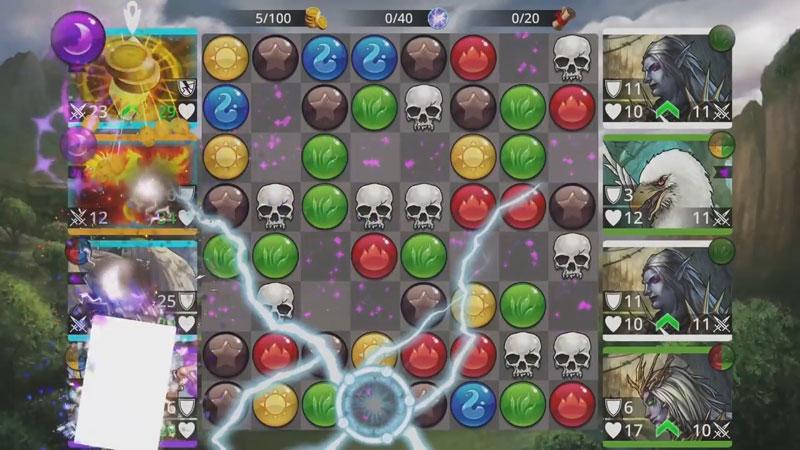 Gems of War - RPG «три в ряд» на андроид