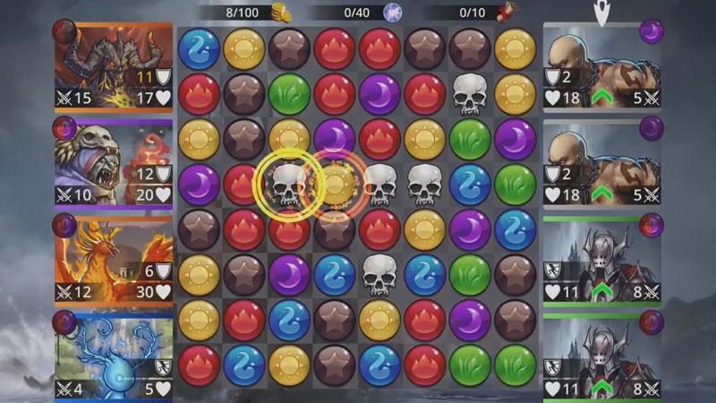 Gems of War - RPG «три в ряд» скачать