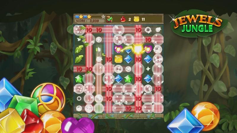 Jewels Jungle: три в ряд скачать