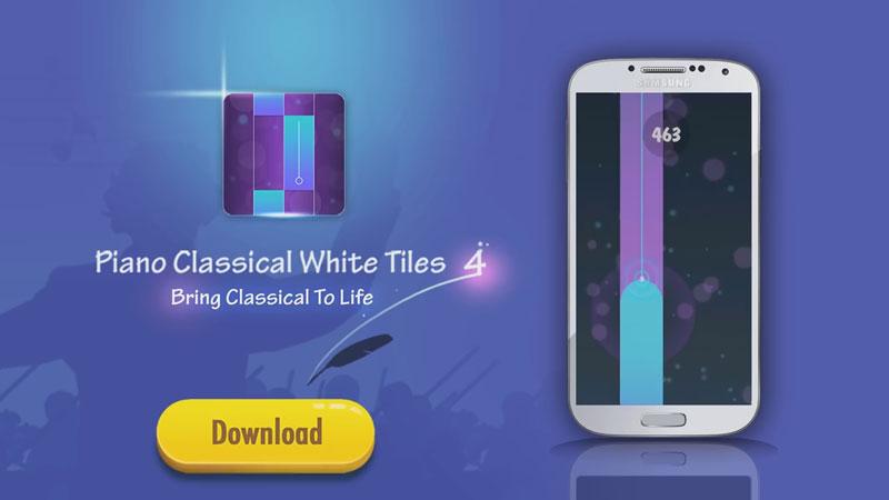 Piano Classical White Tiles 4 скачать