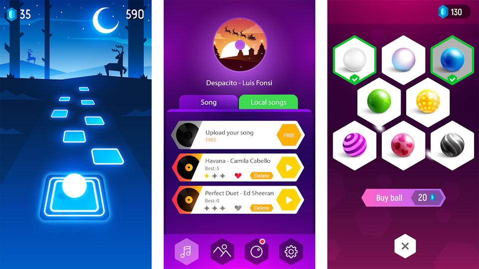 Tiles Hop: Вечно танцующий бал на андроид