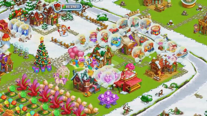 Новогодняя ферма Деда Мороза скачать