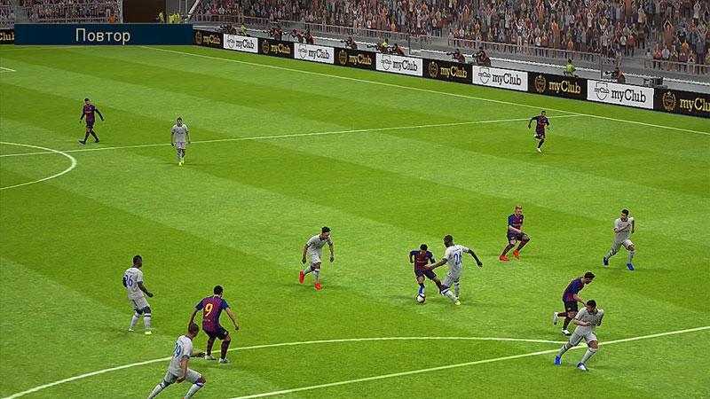 PES 2019 Pro Evolution Soccer на телефон