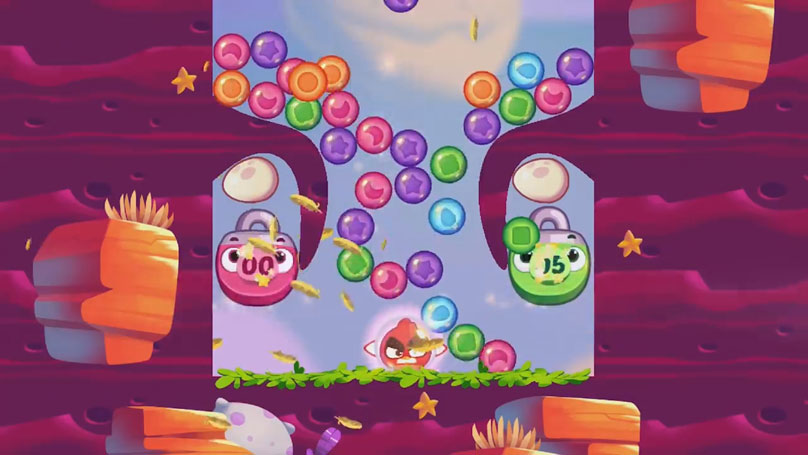 Angry Birds Dream Blast на телефон