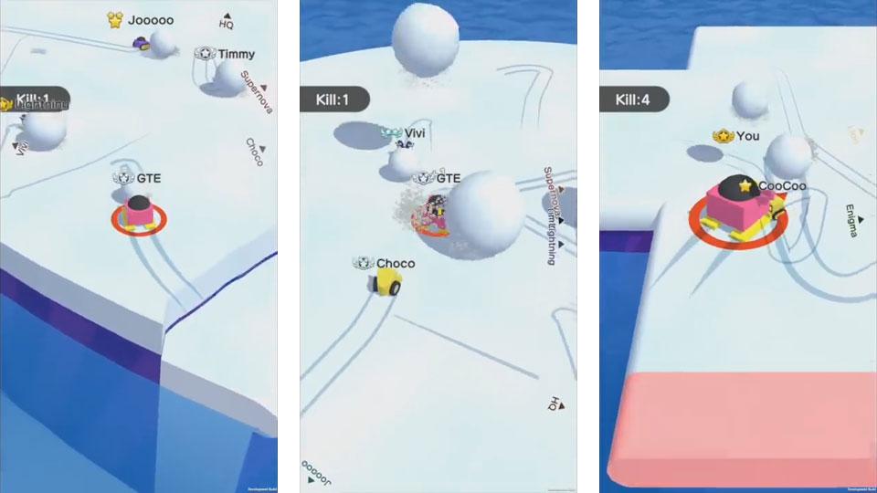 Snowball.io на андроид