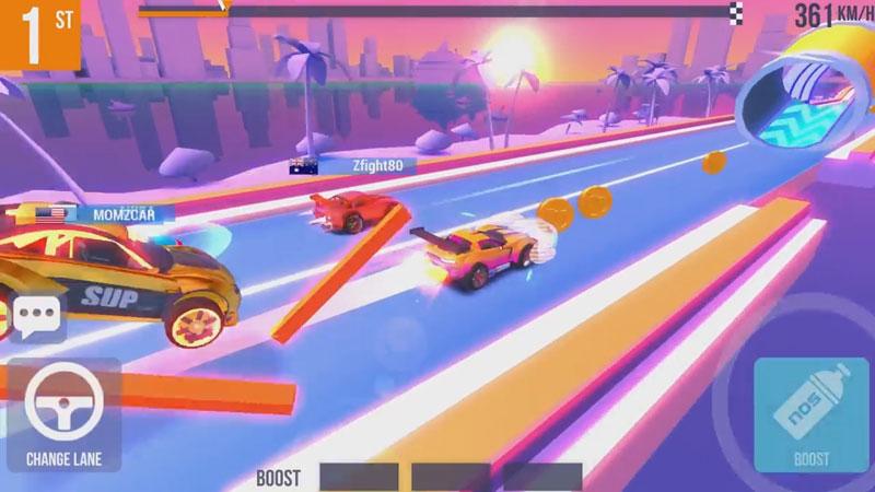 SUP Multiplayer Racing на андроид