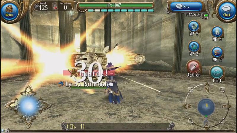 RPG Toram Online на телефон