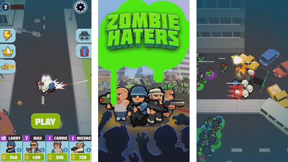 Zombie Haters на андроид