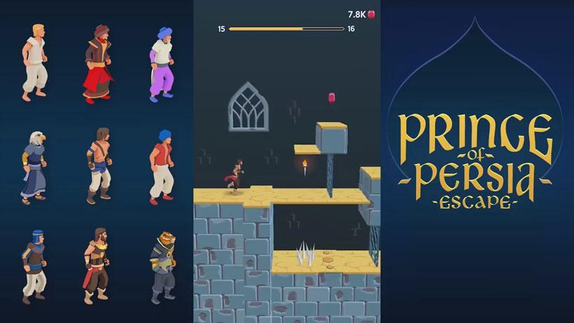 Prince of Persia: Escape на телефон