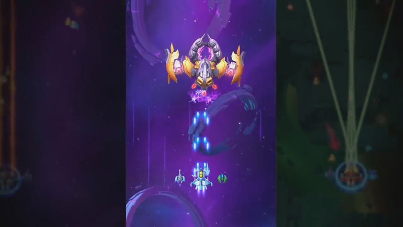 Space Justice – Галактическая леталка на андроид