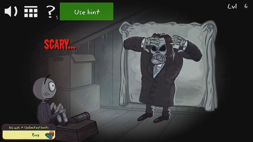 Хоррор игра: Troll Face Quest Horror 2 на андроид